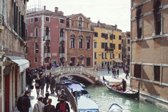 Venice crowded city Royalty Free Stock Photography