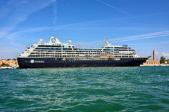 Venice, cruise ship Stock Image