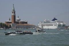Venice Cruise ship Royalty Free Stock Image