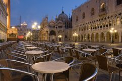 Venice at dawn stock photography