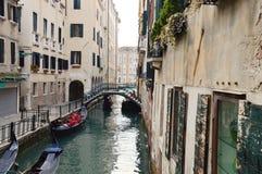 Venice, De Le Ostreghe street royalty free stock photo