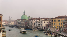 Venice in december Stock Photo