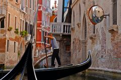 Venise canal, Italy stock images