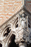 Venice detail of Doge's Palace Royalty Free Stock Photos
