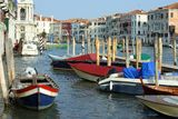 Venice, dock on the Grand Canal Royalty Free Stock Photos