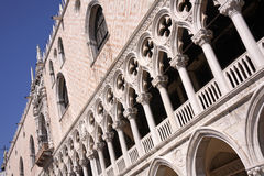 Venice, Doge Palace Stock Photography