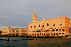 Venice Doge Palace Royalty Free Stock Images
