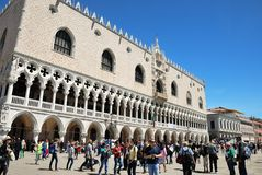 Venice - The Doge's Palace Royalty Free Stock Photos