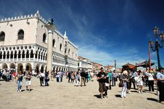 Venice - The Doge's Palace Stock Images