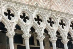 Venice Doge's Palace at St Mark's Square Italy Stock Photo