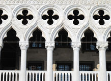 Venice Doge's Palace at St Mark's Square in Venice Royalty Free Stock Photos