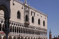 Venice with Doge's Palace, Veneto, Italy Royalty Free Stock Photography