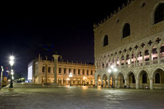 Venice - Doges Palace - St  Marks Square Stock Photos