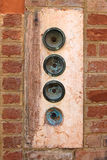 Venice Door Bell Royalty Free Stock Image