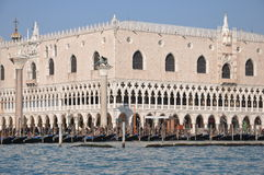 Venice, Ducal Palace. Venice in Italy, Ducal Palace Royalty Free Stock Photos