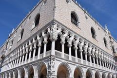 Venice, Ducal Palace stock image