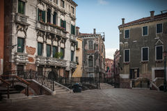 Venice. Ducal palace in the Serenisima city of Venice Royalty Free Stock Photos