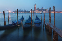 Venice at dusk Royalty Free Stock Image