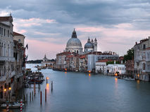 Venice at dusk Stock Image