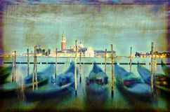 Venice at dusk Royalty Free Stock Photos