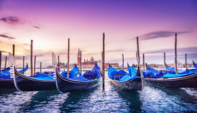 Venice. In the early morning royalty free stock image