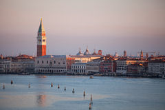 Venice in the early morning. Royalty Free Stock Photography