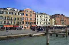 Venice embankment Stock Images
