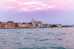 Venice Evening at the Lagoon Royalty Free Stock Images