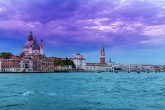 Venice Evening at the Lagoon Stock Image
