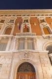 Venice - The facade of Bourse Stock Photos