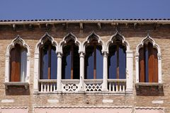 Venice, Facade Detail, Veneto, Italy, Europe Royalty Free Stock Photography