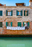 Venice facade. Italy Royalty Free Stock Image