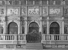 Venice - Facade and main portal of bell tower Royalty Free Stock Photos