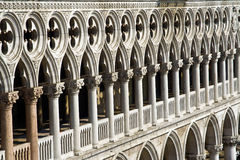 Venice, facade of the palace Royalty Free Stock Photos