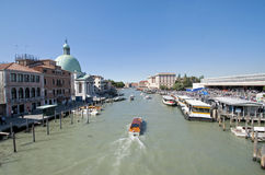 Venice Ferrovia Station Royalty Free Stock Photo