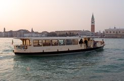 Venice Ferry Stock Image