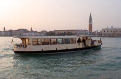 Venice Ferry. Ferry on Venice Lagoon Stock Image