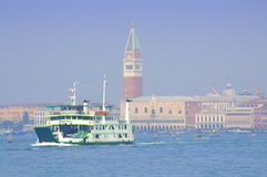 Venice ferry Stock Images