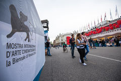 Venice Film Festival 2014 Royalty Free Stock Photos