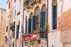 A Venice Fish Hostel in Venice, Italy Stock Image
