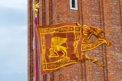 Venice Flag Stock Image