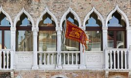 Venice flag Royalty Free Stock Image