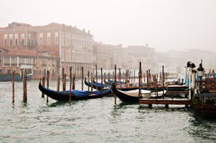 Venice fog Stock Photography