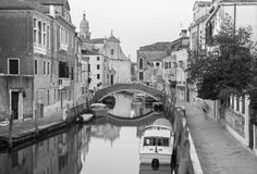 Venice - Fondamenta Briati and canal Stock Photography