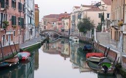 Venice - Fondamenta Briati and canal Royalty Free Stock Photo