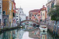 Venice - Fondamenta Briati and canal Royalty Free Stock Photos