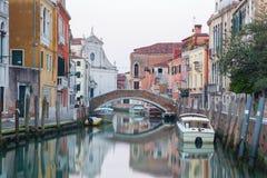 Venice - Fondamenta Briati and canal Royalty Free Stock Photos