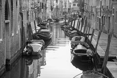 Venice - Fondamenta Giardini street Royalty Free Stock Photos