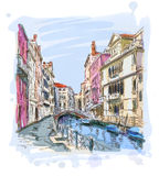 Venice - Fondamenta Rio Marin Royalty Free Stock Images