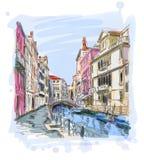 Venice - Fondamenta Rio Marin Royalty Free Stock Images
